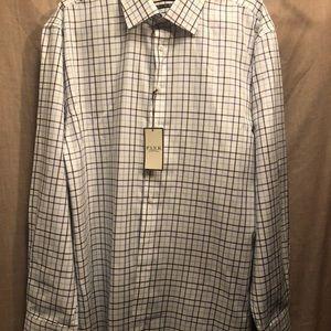 Thomas Pink Shirts - Thomas Pink Men's Plaid Check men's dress shirt 18